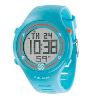 Brand New Soleus Sprint Sports Watch -blue