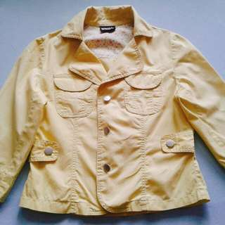 🚚 DODO黃色薄外套