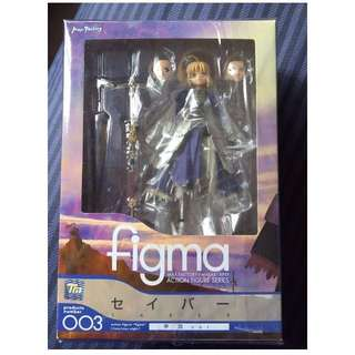 Figma 003 Fate Stay Night Saber