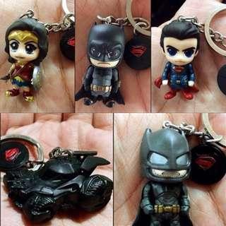 Batman Vs Superman Hot Toys Cos Baby Keychain