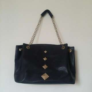 Navy Blue Shoulder Bag *Reserved