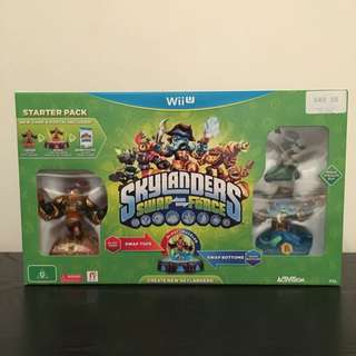 Wii U NEW Skylanders Swap Force Starter Pack
