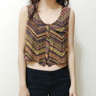 Forever 21, Tribal Top, Extra Small