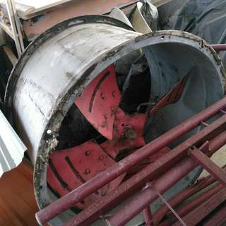 Used 4HP Exhaust Fan Industrial Grade
