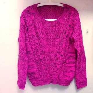 粉色 毛衣