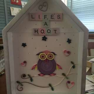 Wall Hanging Or Can Be Placed Anywhere Kids Room Decor