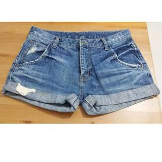 PL Blue Denim Short