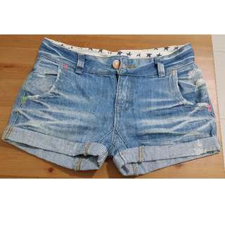 PL Light Blue Denim Short