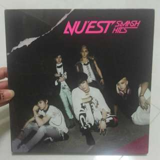 NUEST smash hits台壓專輯