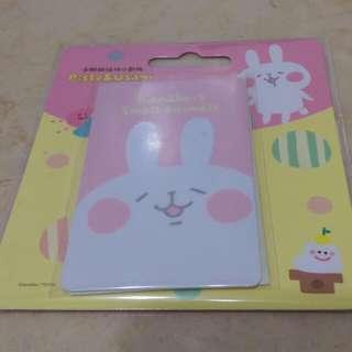 卡娜赫拉悠遊卡 小動物悠遊卡-兔兔 P助 現貨 送小叮噹磁鐵