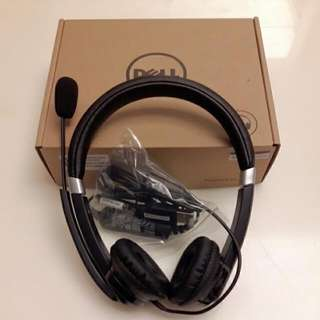 Dell Brand New Pro Head Set With Mic UC300