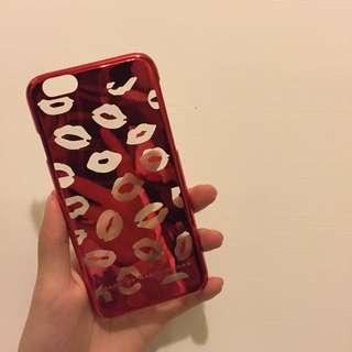 紅唇手機殼i6