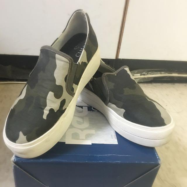 (全家 $360 含運)‼️8.5成新‼️ D+af 迷彩厚底懶人鞋