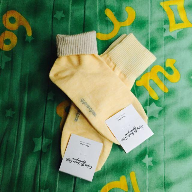 全新✨熱銷反折襪