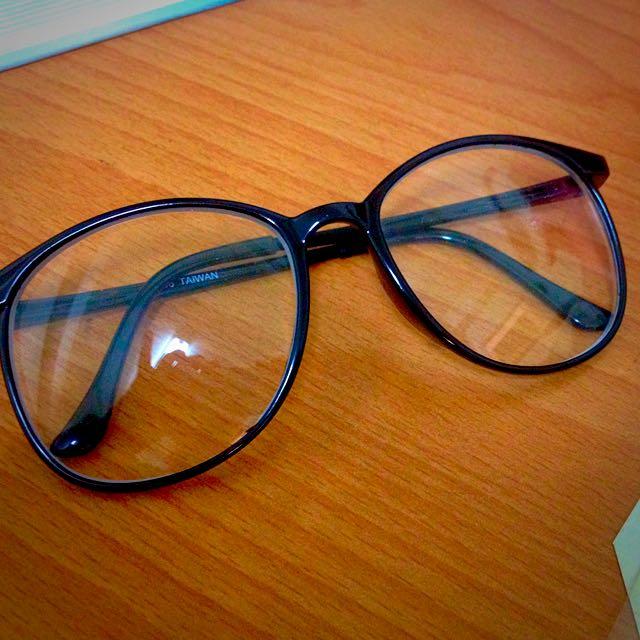 復古鏡框眼鏡