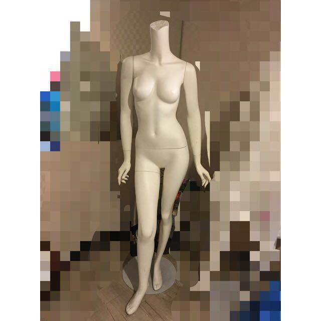 {二手}女性人型模特兒架