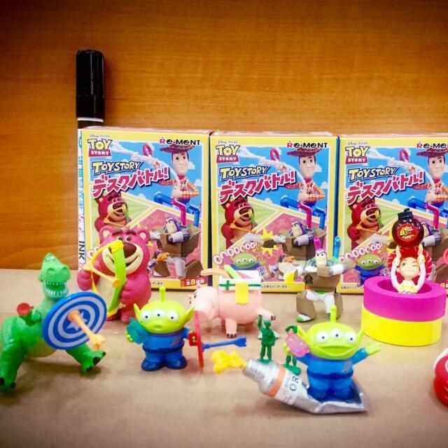 日貨 玩具總動員盒玩
