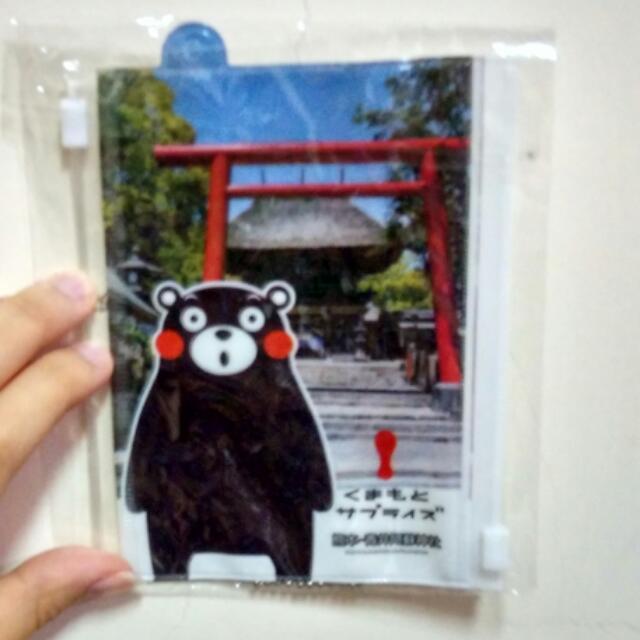 【好物】熊本熊夾鏈袋 含運