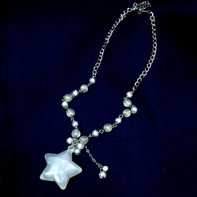 小女孩風 我是星星女孩 珠珠項鍊 純手工 獨一無二