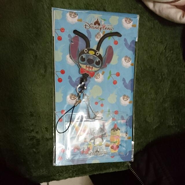 迪士尼 史迪奇 證件 卡夾 票卡夾 識別證  Disney