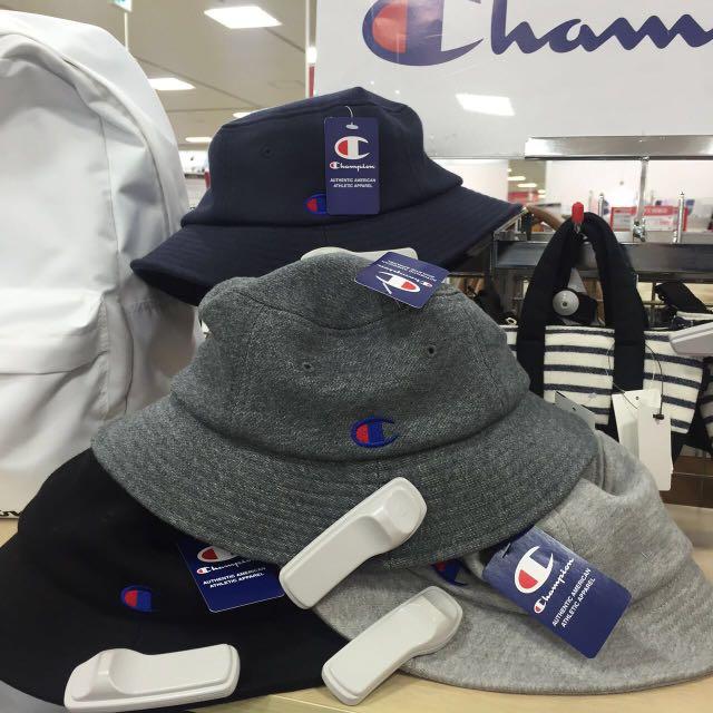 🇯🇵預購免運 日本線Champion漁夫帽🇯🇵四色可選 不多贅述 保證真品 日本實體店購入