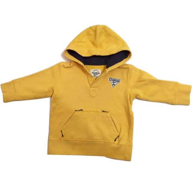 童裝 OshKosh 男童 刷毛 連帽T恤 3T
