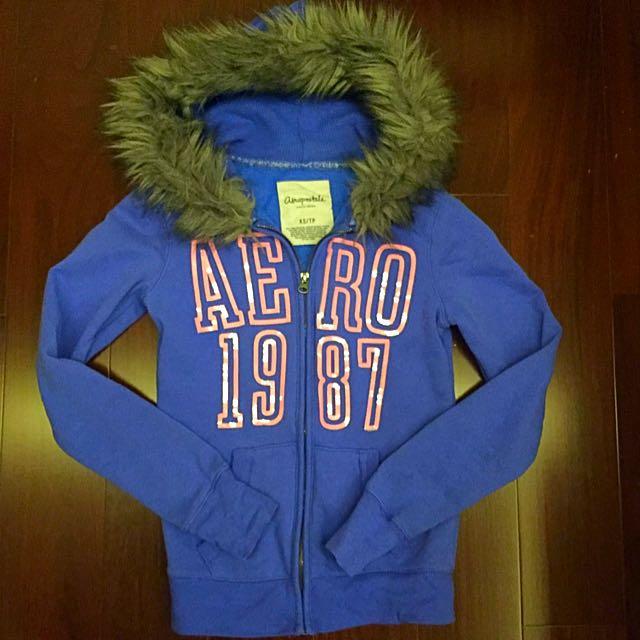 AERO淡藍小外套