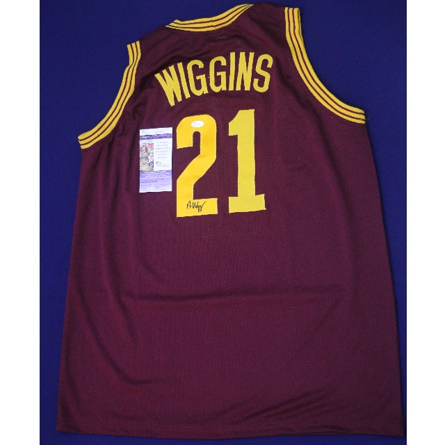 outlet store a5805 e5bd6 ANDREW WIGGINS Cleveland Cavaliers Signed Home Jersey – JSA NBA