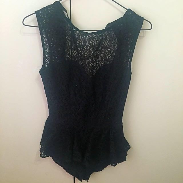 ASOS Lace Body Suit 8/XS