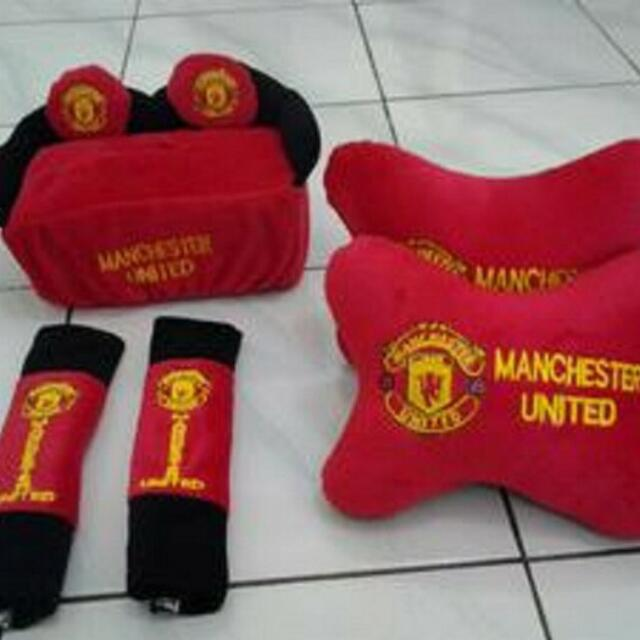 Bantal Mobil 3 in 1 Manchester United