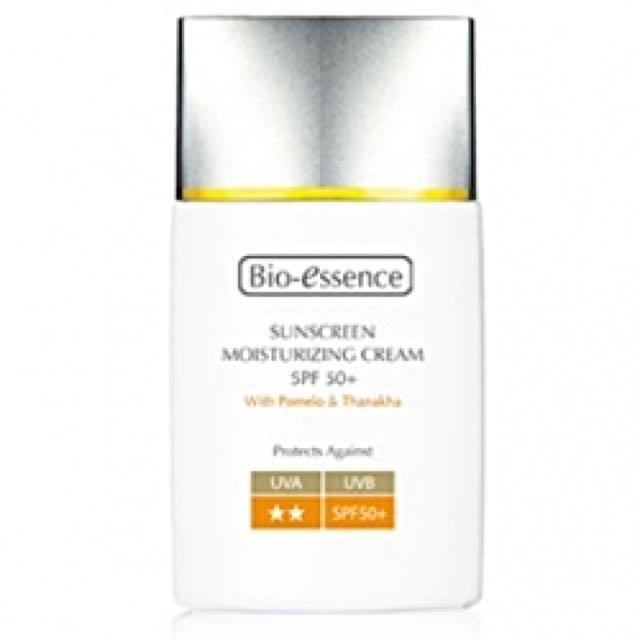 Bio-essence碧歐斯防曬保濕霜SPF50+ 40ml