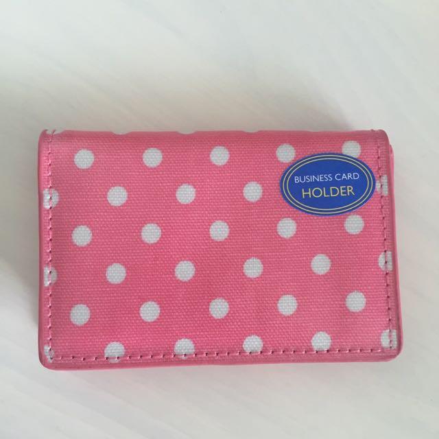 Bn authentic cath kidston little spot business card holder pink photo photo photo photo photo colourmoves