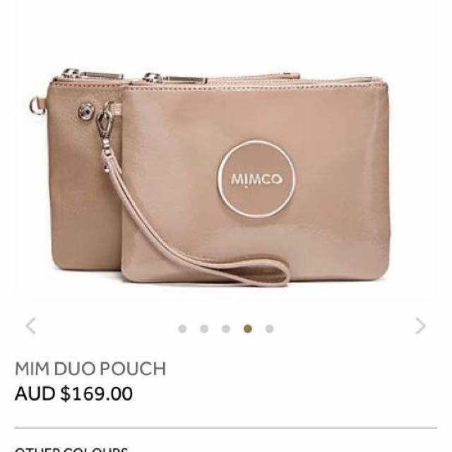 BNWT Duo Pouch Mimco