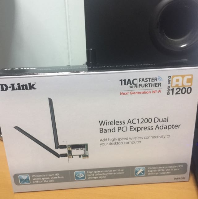 D-Link PCIE Wireless Adapter