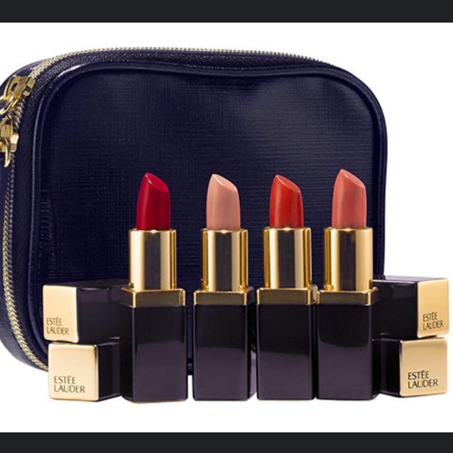Estée Lauder Mini Lipstick Set (Collector's Item)