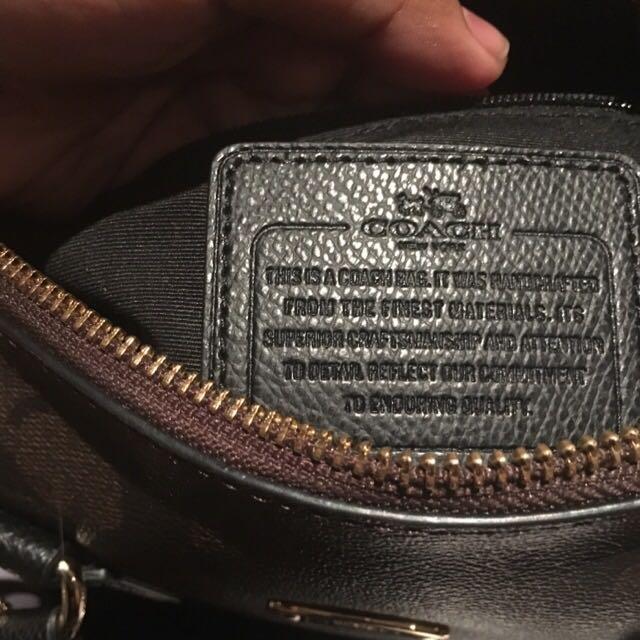 Genuine Coach Mini Satchel Bag