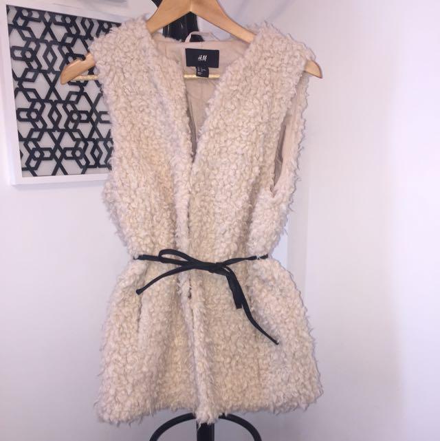 H&M Faux Wool Vest