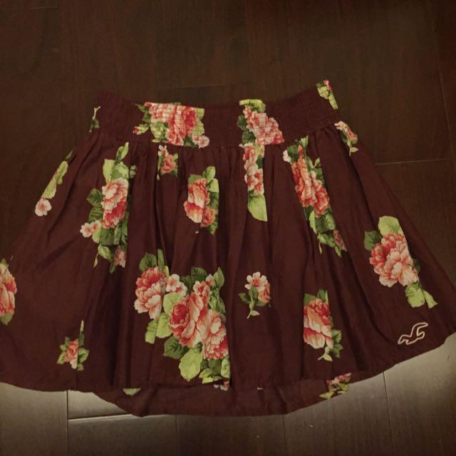 Hollister可愛短裙