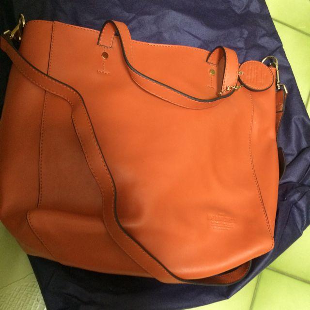 網絡購入Joe&Michelle 2way橘色側背包