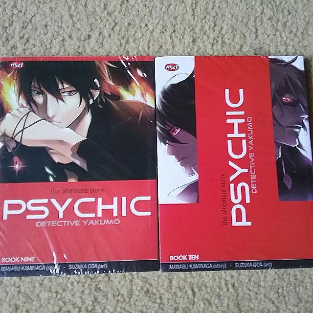 manga psychic vol. 9 dan 10