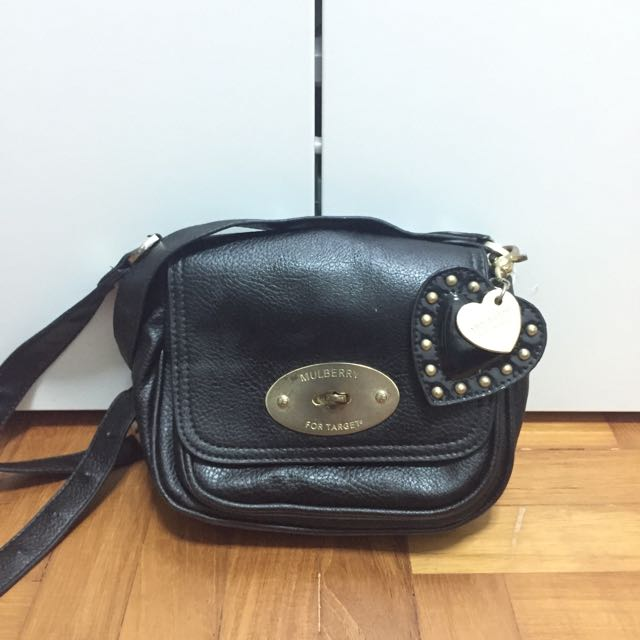 Mulberry for Target Crossbody Bag, Women s Fashion on Carousell 8cdb04e635