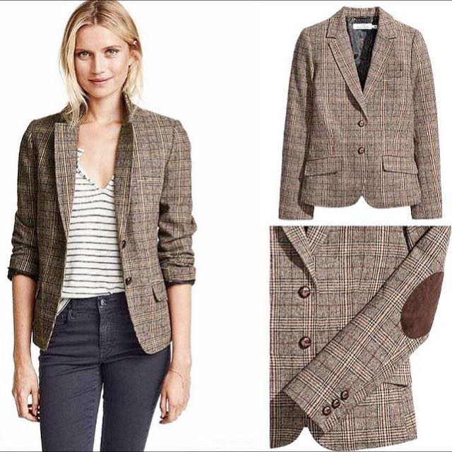 [New with Tag] H&M Checked Blazer