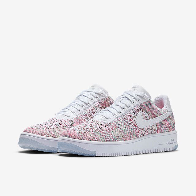 best website 73a90 a141c Nike Air Force 1 Flyknit Low (Women) - White Radiant Emerald Green Strike  White on Carousell