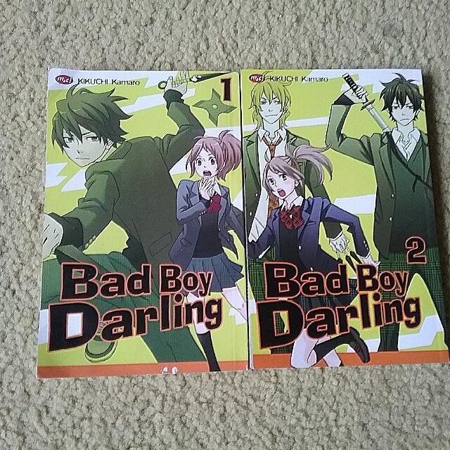 paket manga bad boy darling Vol. 1 -  2  (end)