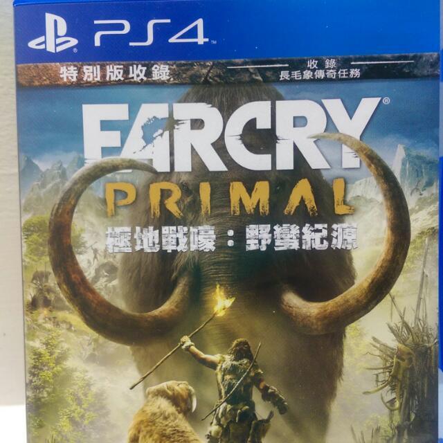 PS4極地戰嚎中文版2手