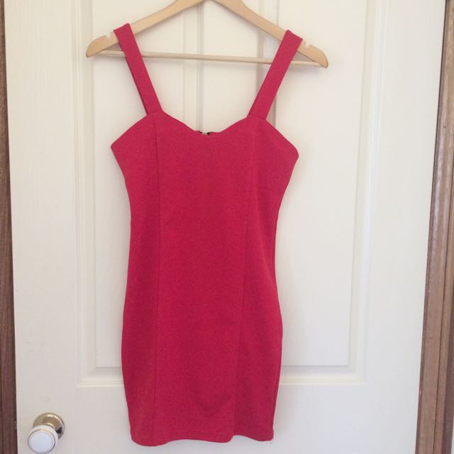 Red Dress Size 6-8