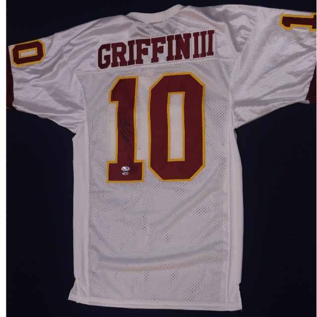 the best attitude 3bd90 ed17e ROBERT GRIFFIN III Washington Redskins Signed Away Jersey ...