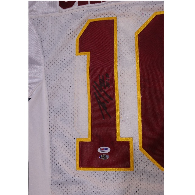 the best attitude 088ec ed390 ROBERT GRIFFIN III Washington Redskins Signed Away Jersey ...