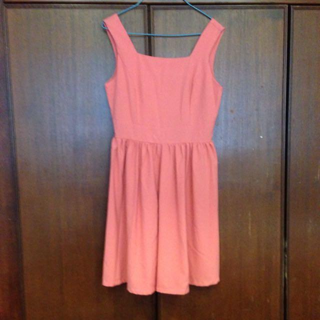 Rose Coloured Dress