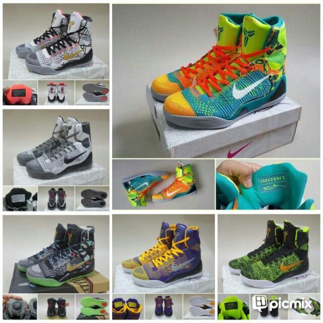 super populaire cdd77 66dbf sepatu basket Nike Kobe 9 Elite High REPLIKA IMPORT, Sports ...